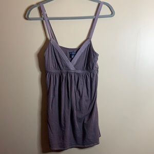 American Eagle Grey Tank Top Small